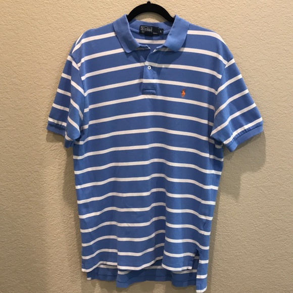 f99477590 Polo by Ralph Lauren Shirts | Ralph Lauren Blue And White Striped ...